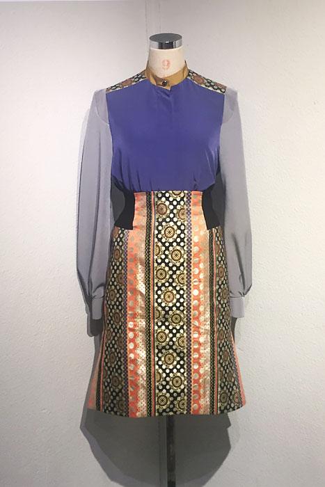aF-171825 Blouse   aF-171824 Skirt