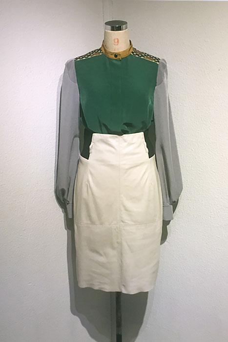 aF-171825 Blouse   aF-171807 Skirt