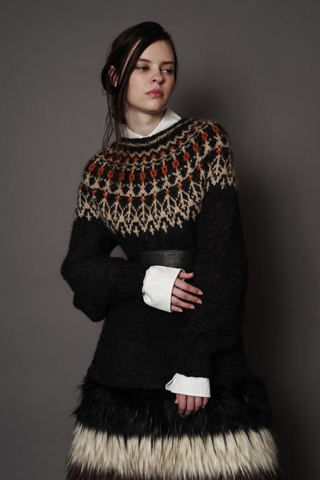 aF-181911 Sweater ¥8,000