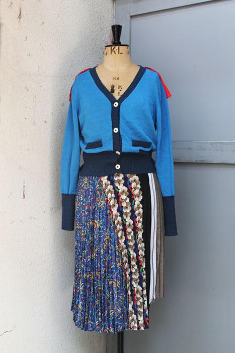 aF-18042 Cardigan  aF-18023 Skirt