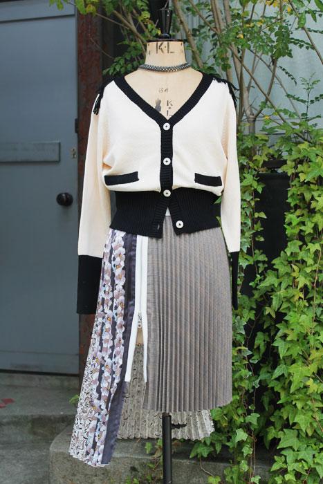 aF-18041 Cardigan  aF-18023 Skirt